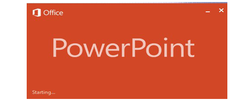 PowerPoint 2013 (Using Template)
