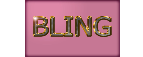 Bling Text Effect တစ္ခုကို ဖန္တီးျခင္း (4)