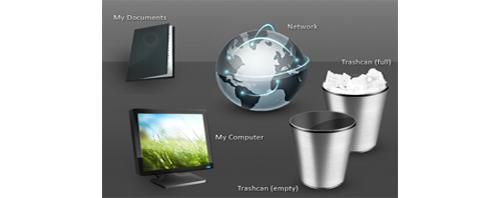 Desktop Icons မ်ားကို Default အျဖစ္ ေျပာင္းလဲျခင္း