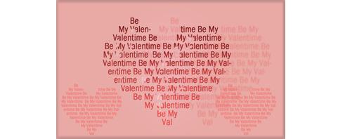 Heart Shape Text တစ္ခုကို ျပဳလုပ္ဖန္တီးျခင္း (1)