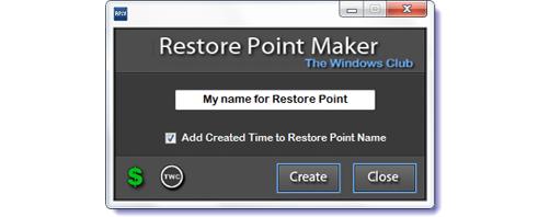 Restore Point ကို ျပန္လည္အသံုးျပဳျခင္း